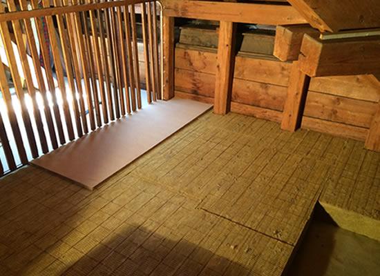 Dämmung Fußboden Estrich ~ Dachboden und estrich dämmen